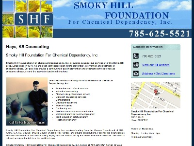 Smoky Hill Foundation For Chemical Dep Hays