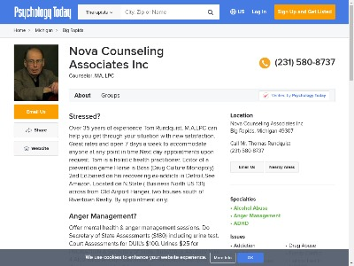 Nova Counseling Associates Inc Big Rapids