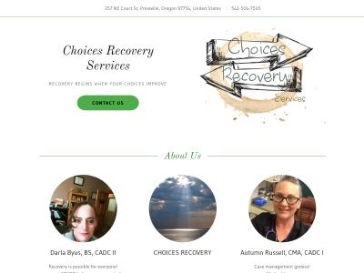 Choices Recovery Services LLC Prineville