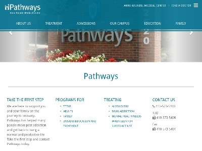Pathways Alcohol/Drug Treatment Ctr Annapolis