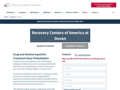 Recovery Centers Of America At Devon