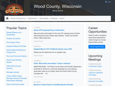 Wood County Human Services Department Wisconsin Rapids