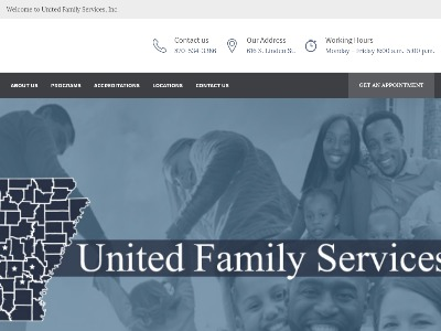 United Family Services Inc Pine Bluff