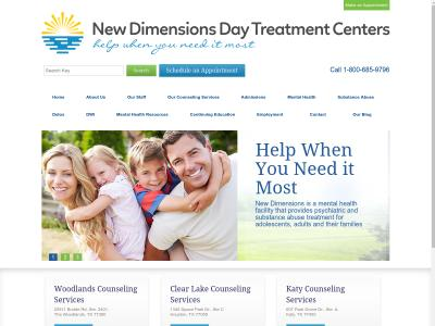 New Dimensions Day Treatment Centers Spring