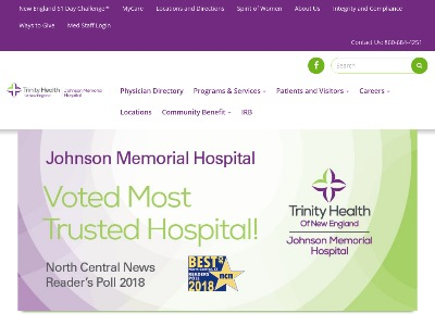 Johnson Memorial Hospital Stafford Springs